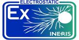 Logo Certification Electrostatic-INERIS