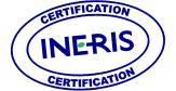 Logo de certification INERIS